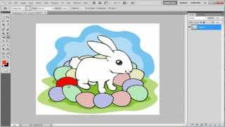 How to use the magic eraser tool in Photoshop