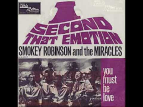 """""""I Second That Emotion"""" by Smokey Robinson & The Miracles"""