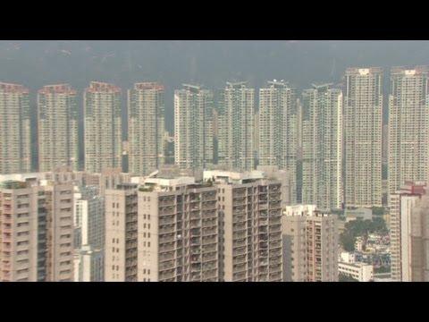 Hong Kong pricks property bubble