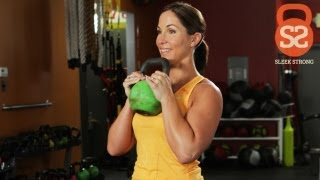 Intermediate Circuit With Kettlebells | Sleek/Strong With Rachel Cosgrove