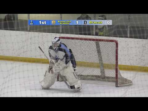 Hockey vs  Boston Latin Academy 12-21-16