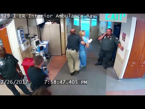 Utah detective fired after nurse's arrest caught on video