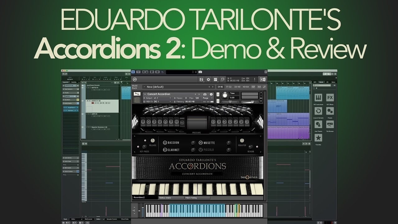 3 Best Accordion VST's & Samples For Producers 2019