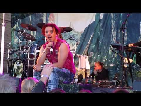 Sonata Arctica : Tallulah, Live at Lankafest 2017 in Puolanka, Finland