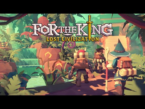 For The King - Lost Civilization [3 Man Co-op] Gladiator Arena (EP.4) |