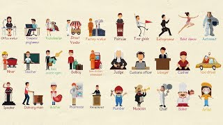Learn Job Names in English | Professions and Jobs Vocabulary