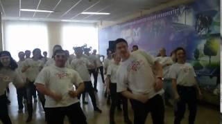 Танцевальный флешмоб в КГЭУ