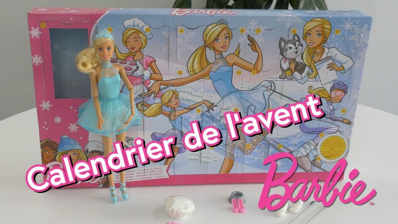 Calendrier Avent Barbie.Mattel Calendrier De L Avent Barbie Comparer Avec Touslesprix Com