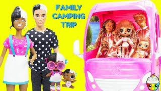 LOL Instagold Family Baby Next Door Family Camping Trip