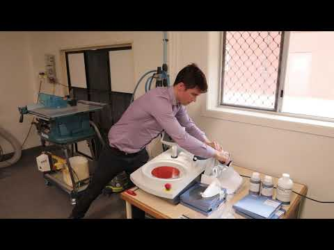 Specimen Polishing: Struers LaboPol-20 Installation And Training