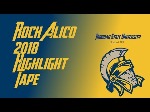 Roch Alico (Trinidad State Junior College Highlight Tape) 2017-2018