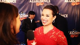Lea Salonga on Returning to Broadway in ALLEGIANCE
