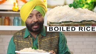 How to Boil the rice - #Tips&Tricks | ChefHarpalSingh