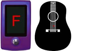guitar tuner - d tuning