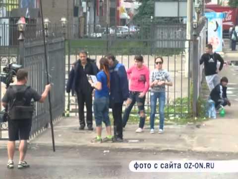 Съемки фильма в Орехово Зуево