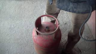 Самый легкий способ снятия клапана (крана) с газового баллона