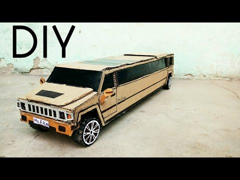 How to Make DIY Limousine Hummer Car | Diy Cardboard Craft Handmade
