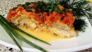 ПП рецепты, рыба в духовке Пангасиус. Вкусная рыба под маринадом. Как похудеть,  диетические рецепты