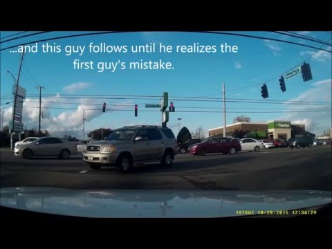 Bad Drivers of Knoxville, Tennessee COMPILATION