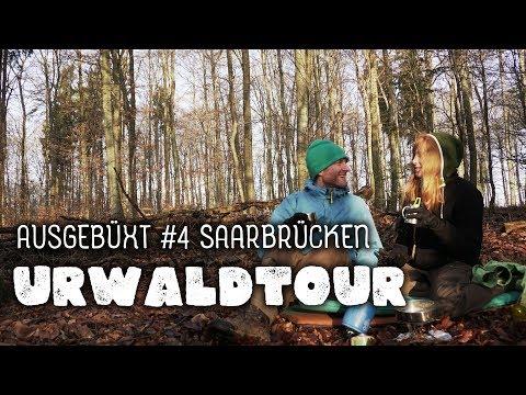 urwald-tour-und-lagern-ohne-tarp:-ausgebÜxt-#4-saarbrÜcken---wandern,-trekking,-deutschland