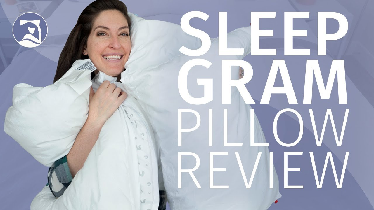 sleepgram pillow review easy to clean and cozy