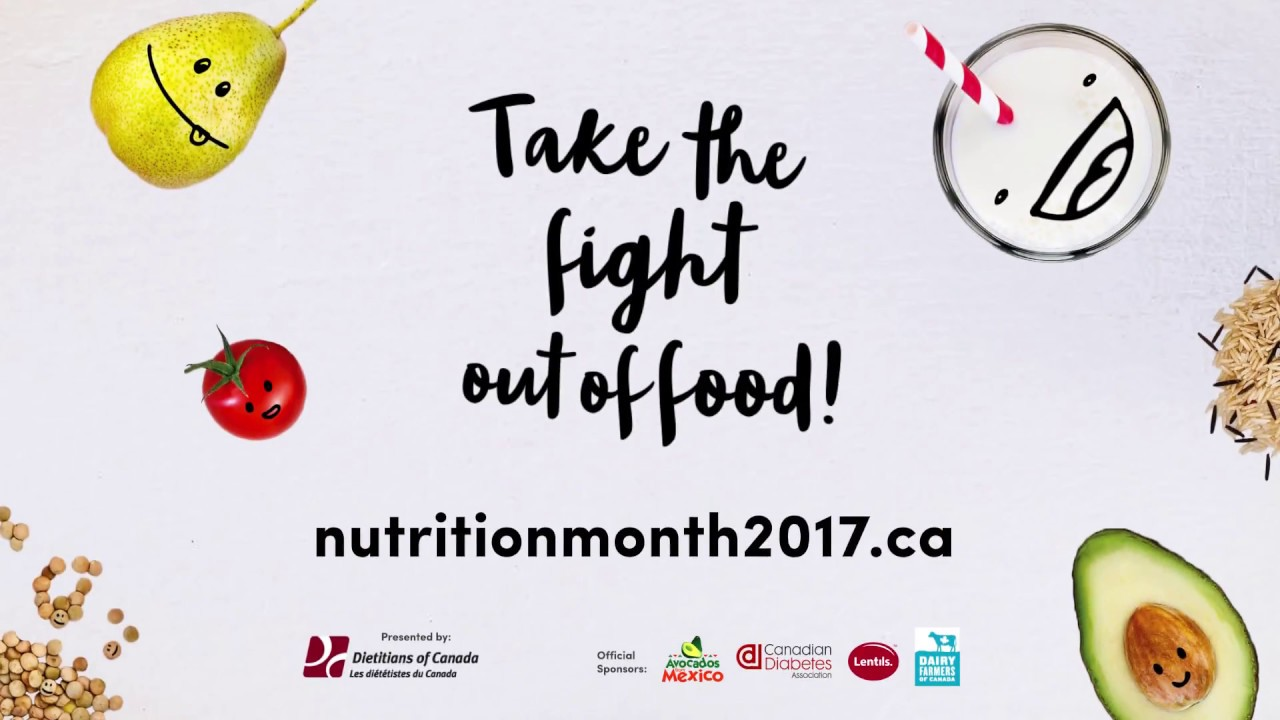 DC Nutrition Month 2017 Take The Fight Out Of Food 5 Seconds
