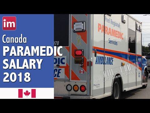 Paramedic Salary In Canada (2018) - Jobs In Canada