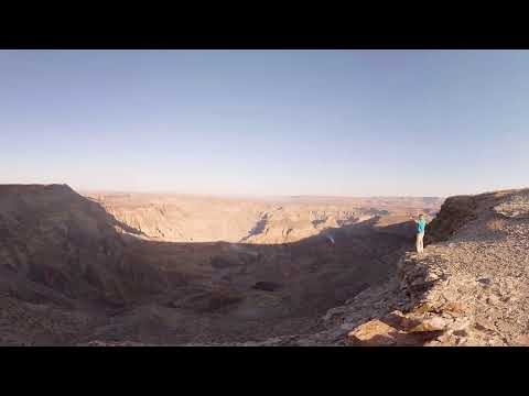 360 VR Video of Fish River Canyon , Nomad Africa Adventure Tours - Namibia