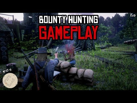 Red Dead Redemption 2 Bounty Hunting Gameplay