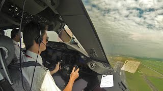 Pilot GoPro Boeing 787 out of Bangkok!