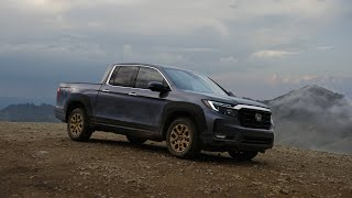 homepage tile video photo for Roam with the redesigned 2021 Honda Ridgeline: Exterior and Interior Walk-Around