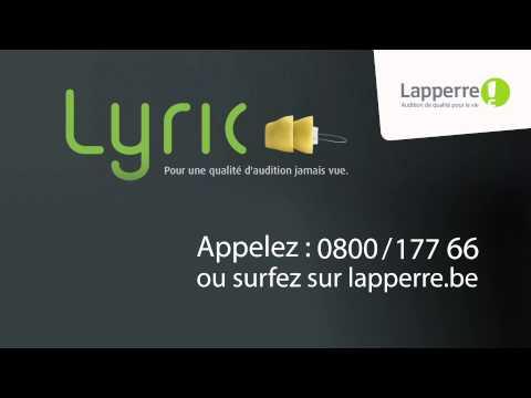 Lyric - Les appareils auditifs discrets Lapperre