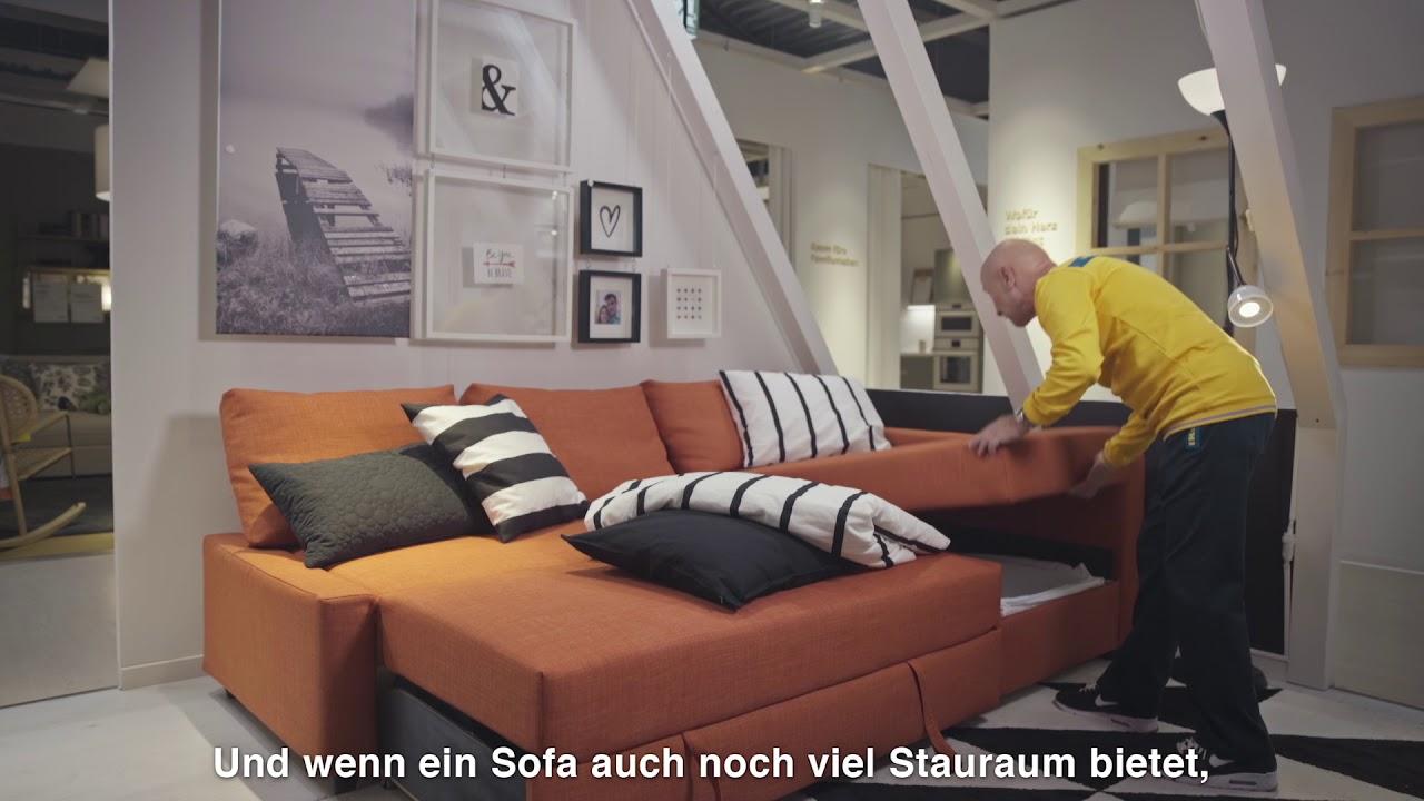So kannst du dein Wohnzimmer im Nu in ein Schlafzimmer verwandeln ...