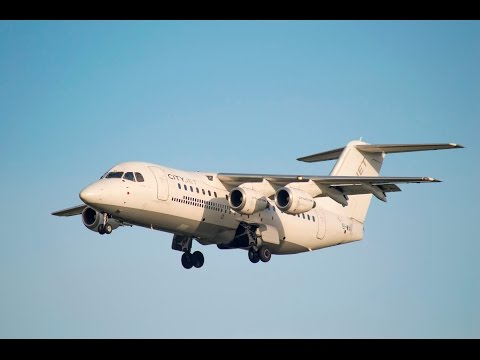 CityJet • Avro RJ85 • Dublin to London City • WX120
