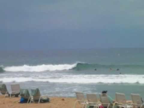 Surf Video Kaanapali Beach Black Rock Maui