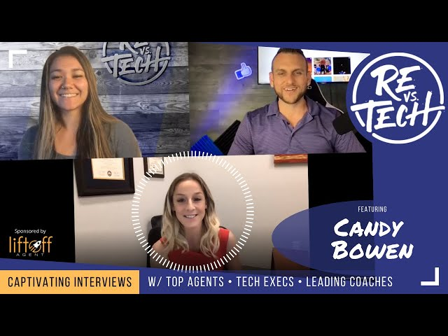 Candy Bowen - How To Become An Authority and Dominate Your Market | RE vs. TECH | Ep#88