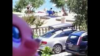 lps diana s ginou u moře na dovolené