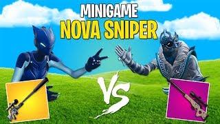 PEDRA PAPEL E TESOURA COM A *NOVA SNIPER* SILENCIADA ! - Fortnite Battle Royale