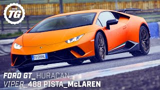 Chris Harris Drives... Best of Supercars: Ford GT, Lamborghini Huracan, 488 Pista | Top Gear