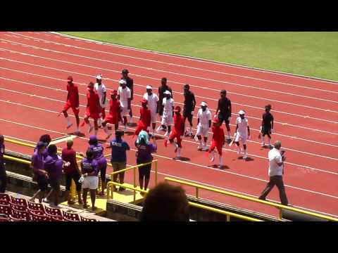Port Of Spain Police Youth Club Sports 2017 - St.  Barbs March Pass