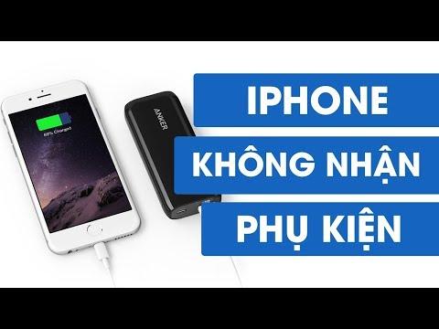Nguyên Nhân IPhone Không Nhận Phụ Kiện Và Cách Xử Lý