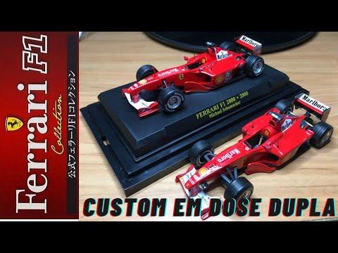 Ferrari F1 2000 Michael Schumacher Auto 1:43 RBA IXO Modell