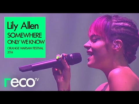 Lily Allen - Somewhere Only We Know (Orange Warsaw Festival 2014)