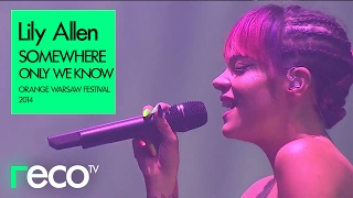 Lily Allen - Somewhere Only We Know (Orange Warsaw Festival 2014)