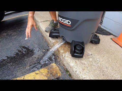 RIDGID Wet Dry Shop Vac