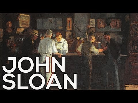 John Sloan: A collection of 144 paintings HD