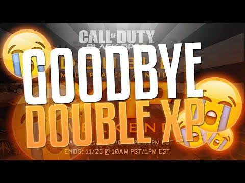 GOODBYE DOUBLE XP! (Black Ops 3)