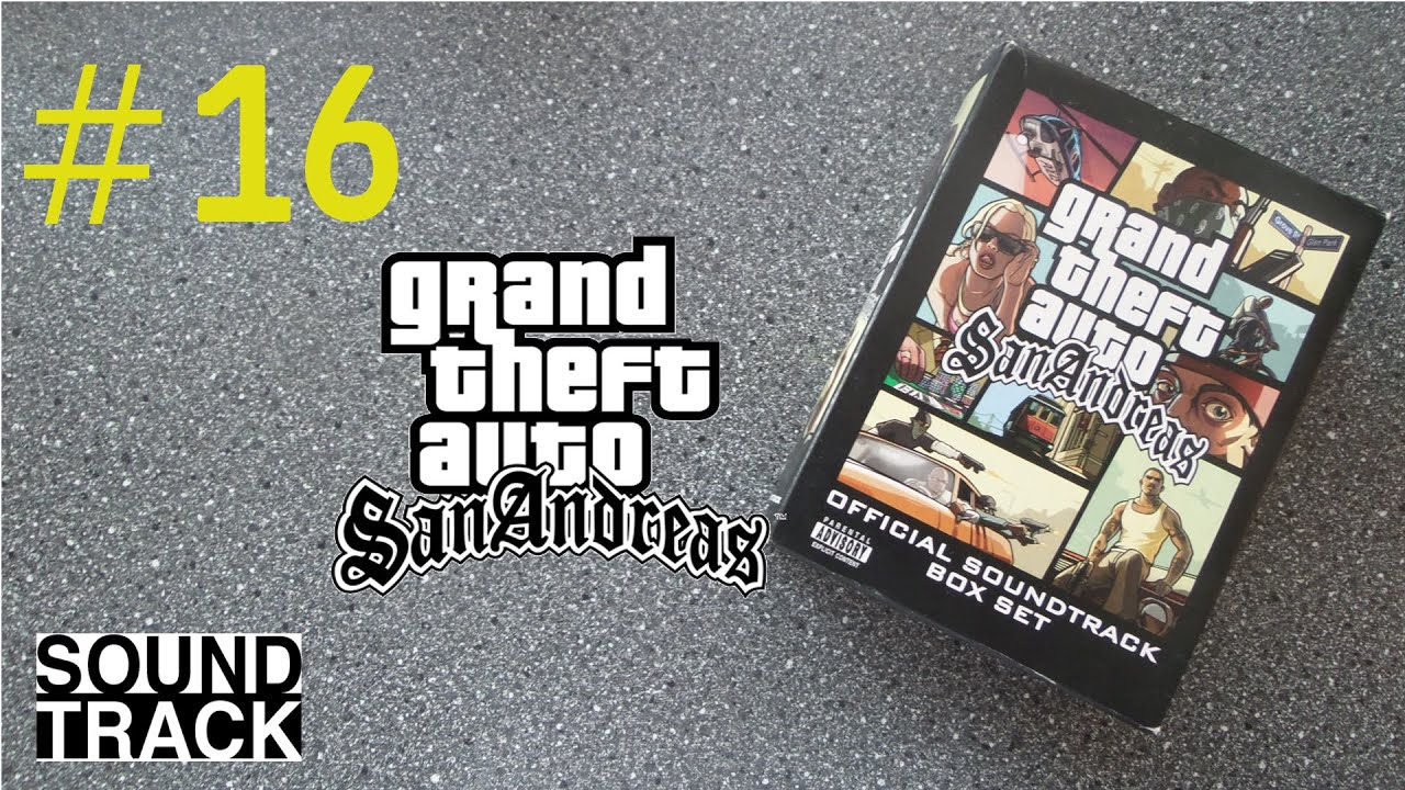 GTA San Andreas Official Soundtrack Box Set Unboxing | OST - YouTube