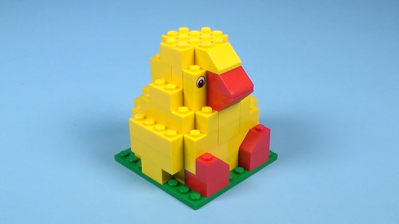 How To Build Lego EASTER CHICK - 4630 LEGO® Build & Play Box Building  Instructions For Kids