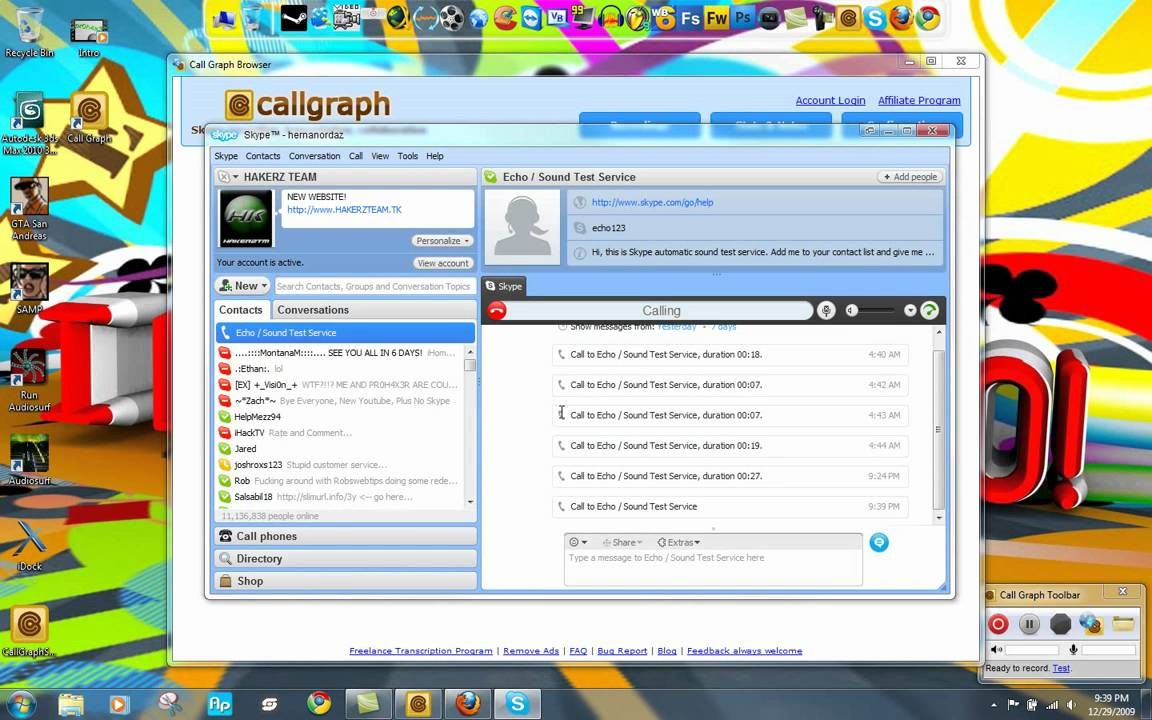 CallGraph Skype Recorder For Windows